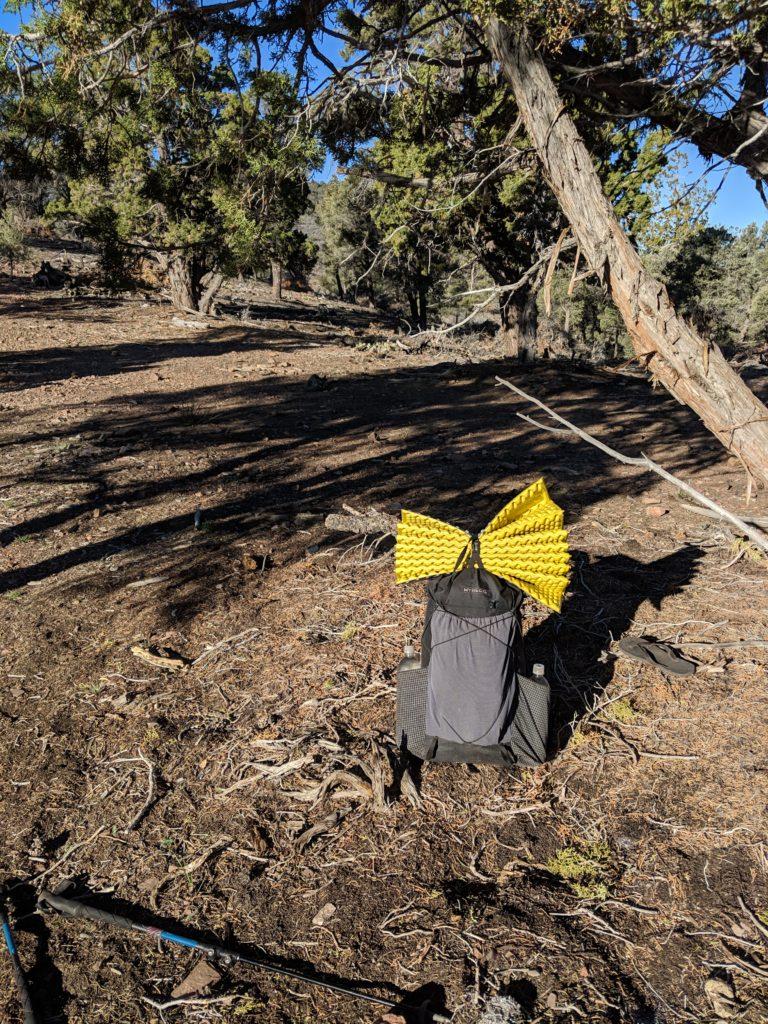 Mijn complete uitrusting voor de Pacific Crest Trail rond mijl 250