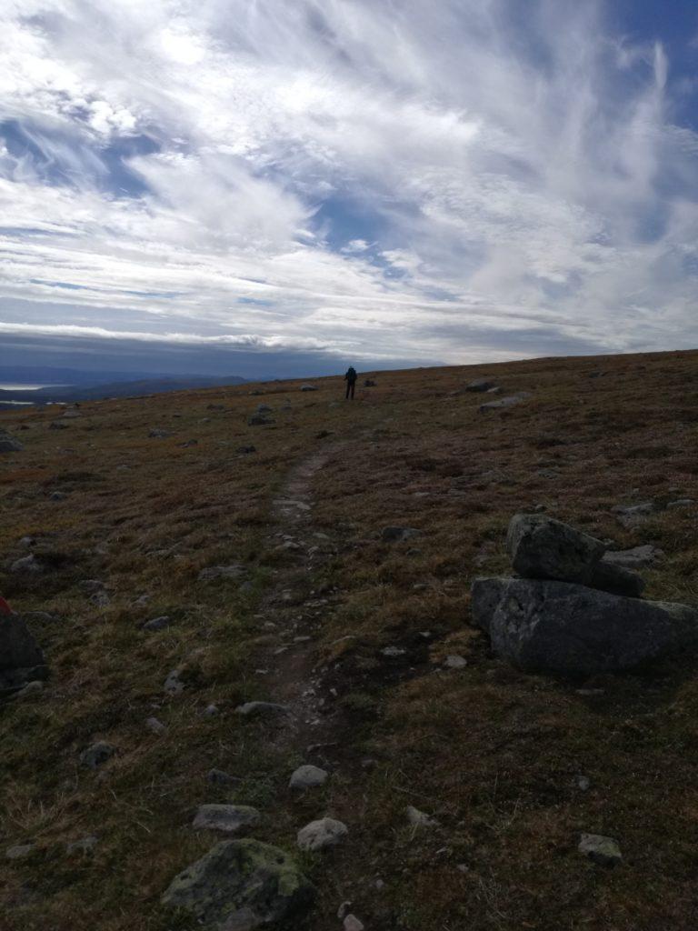WInderige hoogteplateau