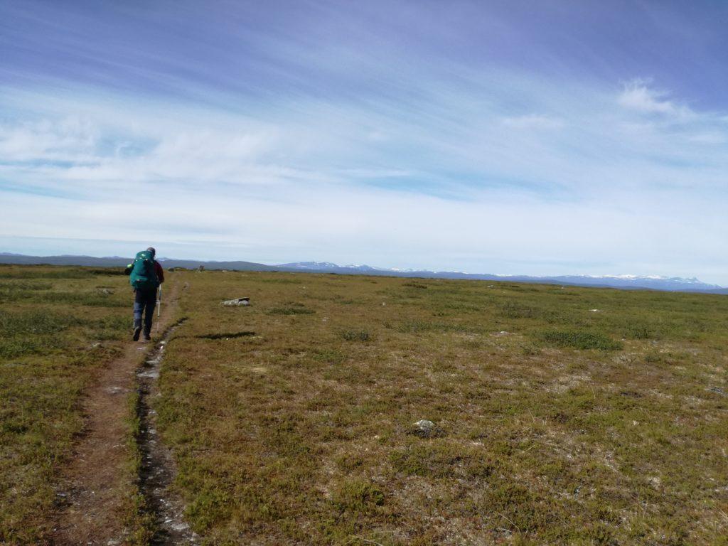 Weidse vergezichten in Lapland