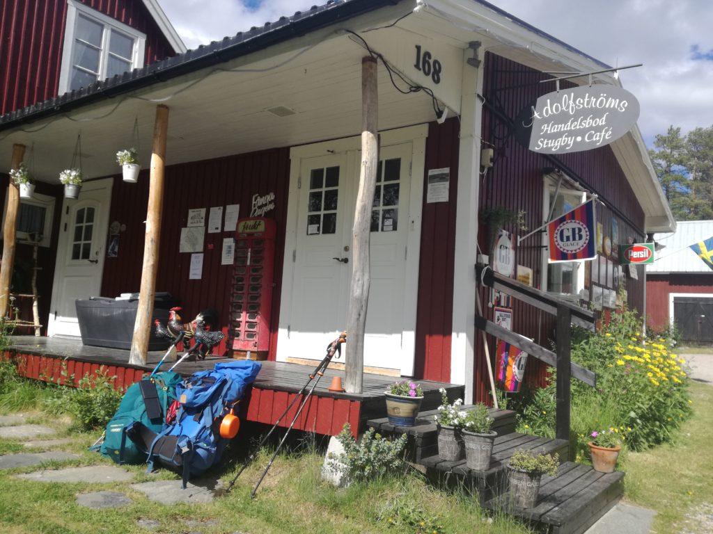 Lucnhpauze bij dit typische Zweedse winkeltje