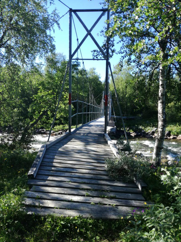 De rivieroversteken zijn altijd goed verzorgd
